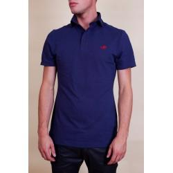 Tee-Shirt Polo Hommes - bleu-fonce-Perdida
