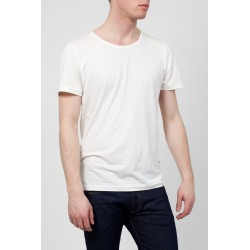 T-Shirt Homme - Blanc-Casse-Barbados