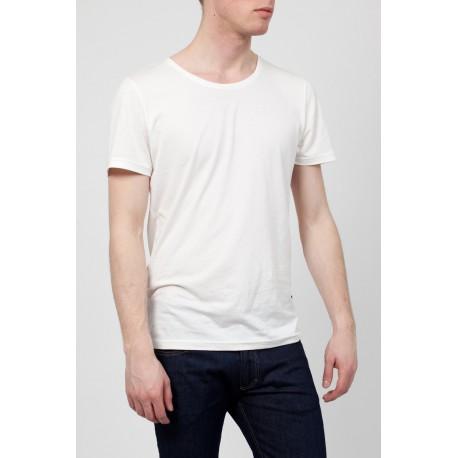 T-Shirt Homme - Blanc-Casse-Barbados
