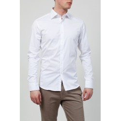 Chemise homme - blanche-Chagos
