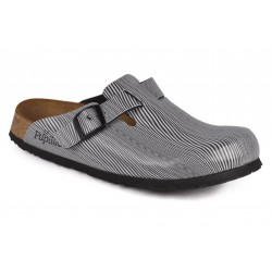 Papillio Mules - Boston Ripples Black - Homme
