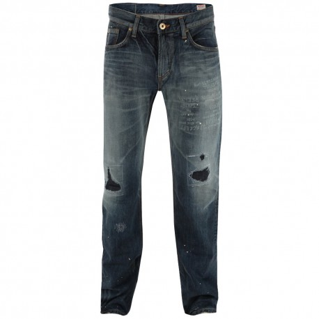 Edwin Pantalons Jeans - Hon Rebelle Vintage Straight Used L33 - Homme