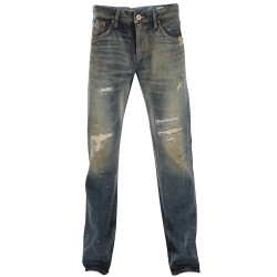 Edwin Pantalons Jeans - Win Straight Rebel Vintage Used L33 - Homme