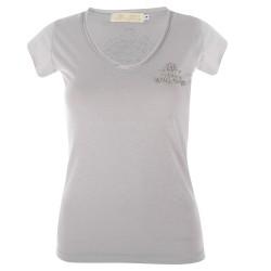Indi-k T-shirts - Manches Courtes Gris - Femme