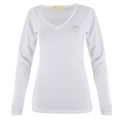 Indi-k T-shirts - Manches Longues Blanc - Femme