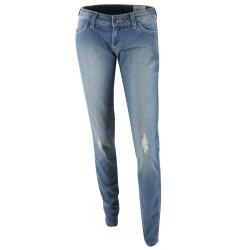 Siwy Pantalons Jeans - Kiss Rose Bleu Clair - Femme