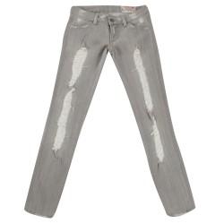 Siwy Pantalons Jeans - Surreal Noir Délavé - Femme