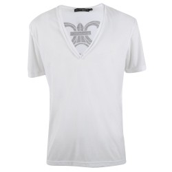 Trust couture paris T-shirts - White Skull - Homme