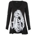 Lauren moshi T-shirts - Photographe Manches Longues Noir - Femme