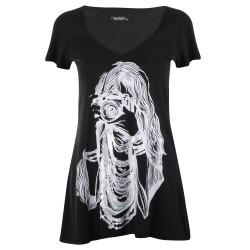 Lauren moshi T-shirts - Photographe Manches Courtes Noir - Femme