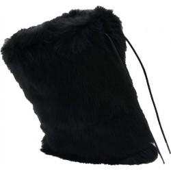 Neosens Guêtres -Fur Black-Femme