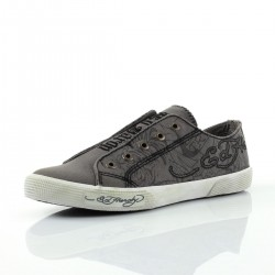Ed hardy Baskets - Inazawa dark grey - Homme