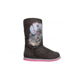 Ed hardy Bottes - University Boot grey - Fille