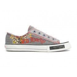 Ed hardy Baskets - Greaser Lowrise grey - Garçon