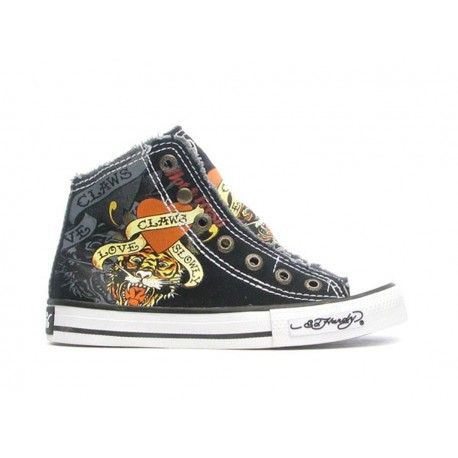 Ed hardy Baskets - Highrise 100 black - Garçon