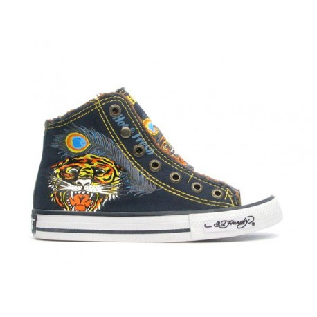 Ed hardy Baskets - Highrise 100 navy - Garçon