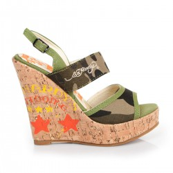 Ed hardy Sandales - Private camouflage - Femme