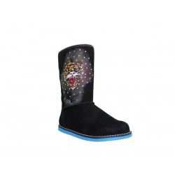 Ed hardy Bottes - Bootstrap 100 Boot black - Fille