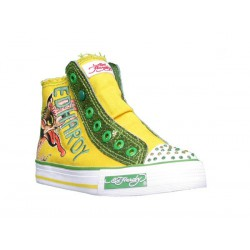 Ed hardy Baskets - Gleam yellow - Fille