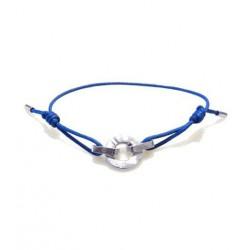 Bracelet i.d x-change connexion argent cordon