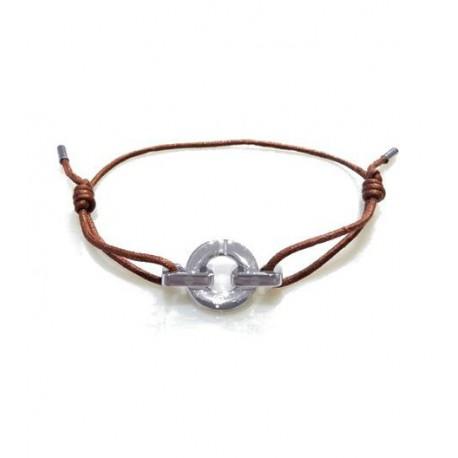 Bracelet i.d x-change connexion acier cordon