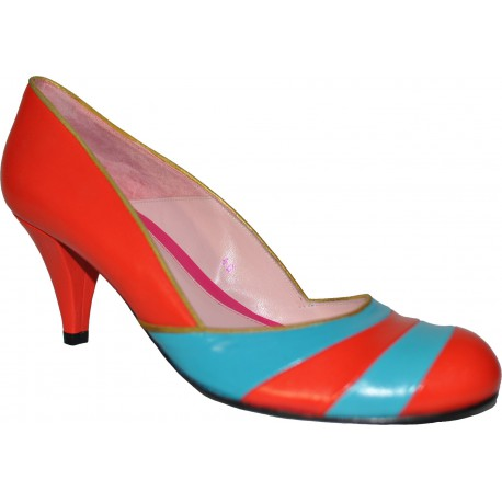 Annabel winship - Escapin Multicolore - Femme