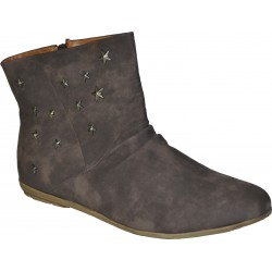 Latians Bottines -Marron - Femme