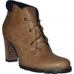 Mellow yellow Bottines -IOWA Marron - Femme