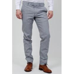 Pantalon Costume - Bleu-Blanc-Papouasie