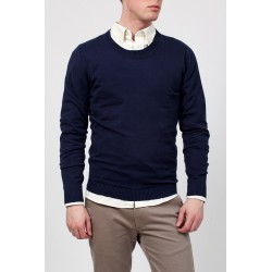 Pull-Bleue fonce-Hervey